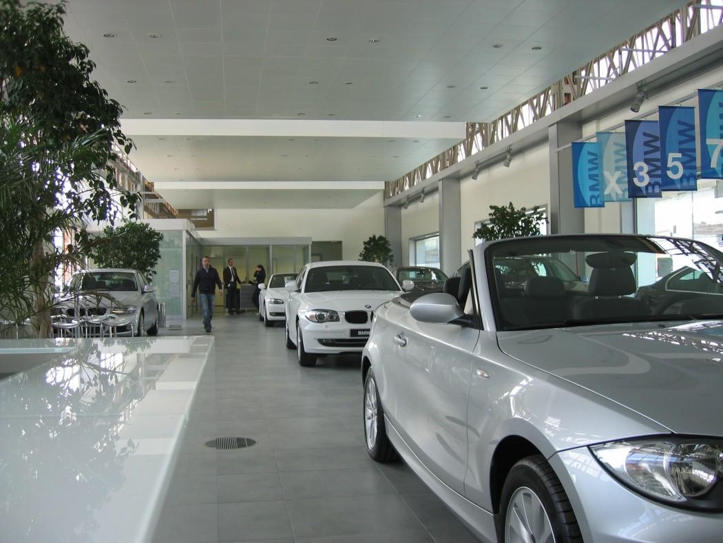 Architettura 5 - CONCESSIONARIA AUTO BMW - MINI A NAPOLI - 1-min