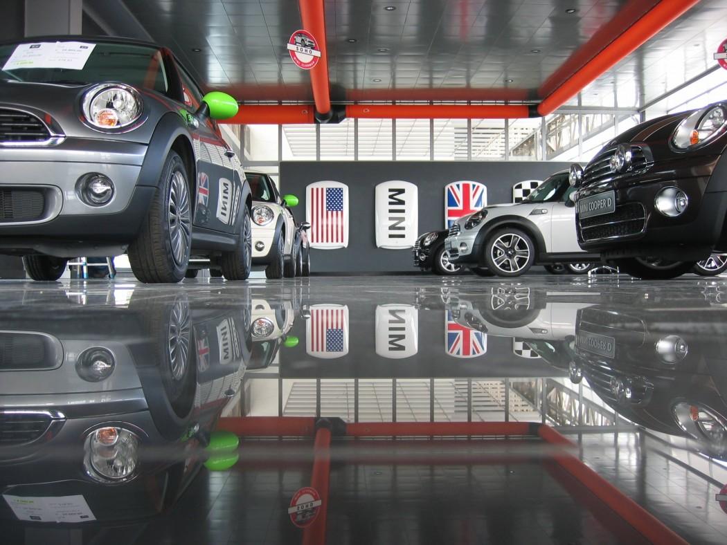 Architettura 5 - CONCESSIONARIA AUTO BMW - MINI A NAPOLI - 6-min